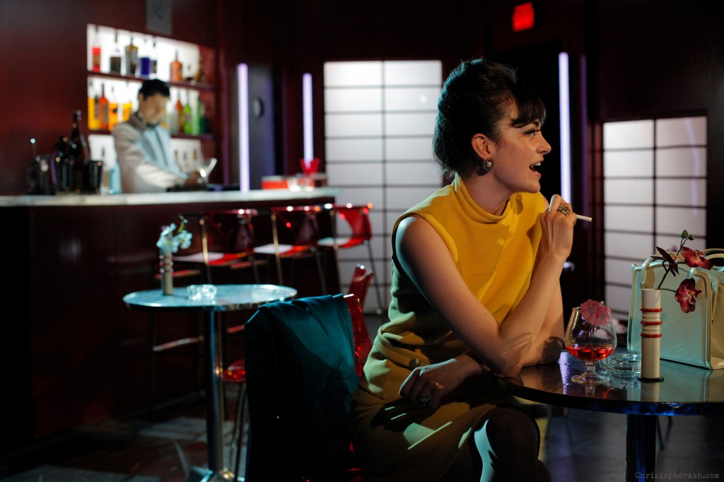 In the Bar of a Tokyo Hotel, By Tennessee Williams, Directed by Chris Bannow, Yale Summer Cabaret, Photo by Christopher Ash