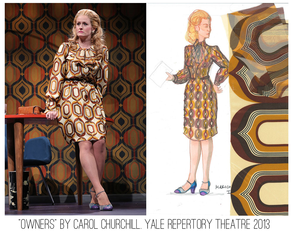 Seth Bodie: Owners by Carol Churchill. Yale Repertory Theatre 2013