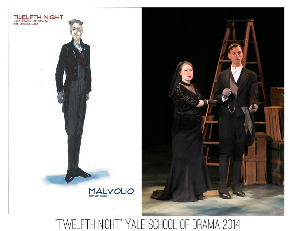 Seth Bodie: Twelfth Night. Yale School of Drama 2014.