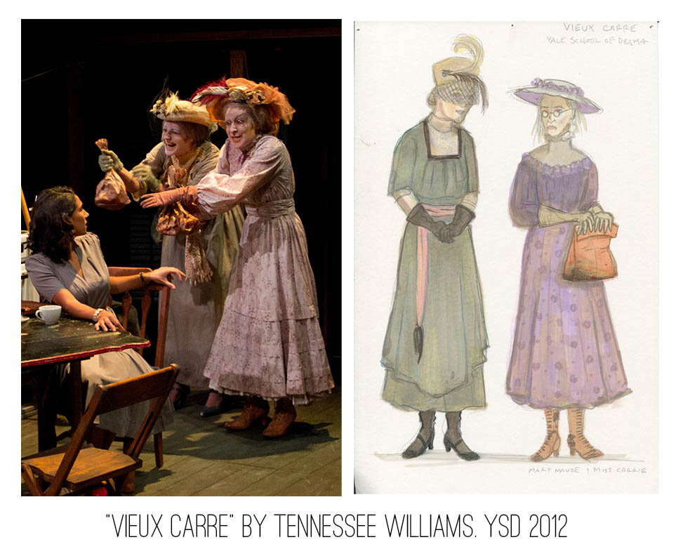 Seth Bodie: Veeux Carre by Tennessee Williams, Yale School of Drama 2012.